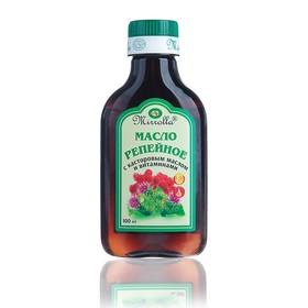 Репейное масло Mirrolla с касторовым маслом и витаминами, 100мл Ош