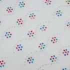 Термоаппликация из страз «Узор», 10 × 1,6 см, 36 шт на листе, цвет МИКС