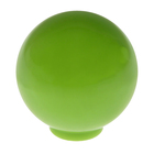 Ручка кнопка PLASTIC 008, пластиковая, фисташковая