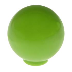 Ручка кнопка PLASTIC 008, пластиковая, фисташковая Ош