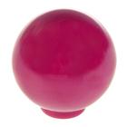 Ручка кнопка PLASTIC 008, пластиковая, сливовая