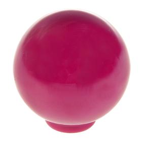 Ручка кнопка PLASTIC 008, пластиковая, сливовая Ош