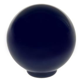 Ручка кнопка PLASTIC 008, пластиковая, синяя Ош