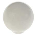 Ручка кнопка PLASTIC 008, пластиковая, белая