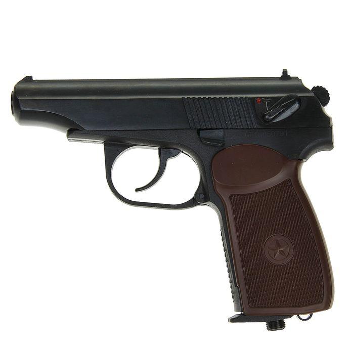 Пистолет пневм. МР-654К-20 (обн. ручка), 84188, шт