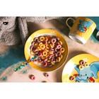 Набор детской посуды Доляна «Слонёнок», 3 предмета: кружка 230 мл, миска 400 мл, тарелка 18 см - фото 7333112