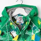 Костюм для мальчика, рост 86 см, цвет зелёный - фото 105564140