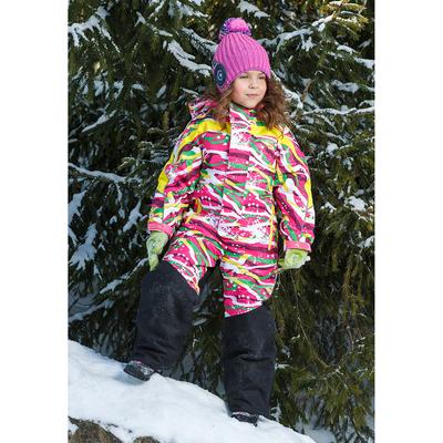 Комбинезон для девочки, рост 110 см, цвет розовый 1ov722