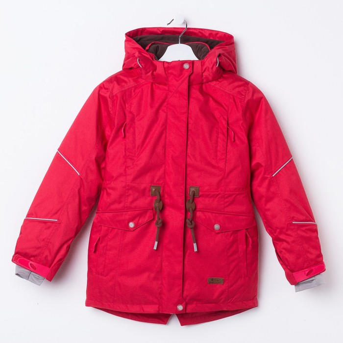 Куртка для девочки, рост 134 см, цвет розовый