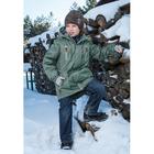 Куртка для мальчика, рост 152 см, цвет хаки