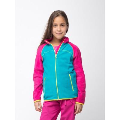 Джемпер флисовый для девочки, рост 152 см, цвет ментоловый