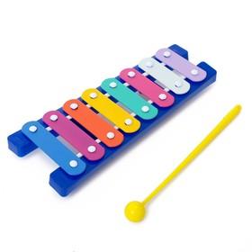 Музыкальная игрушка «Металлофон», МИКС