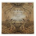 Альбом для рисования (скетчпад) 29 х 29 см, 32 листа на скрепке SPIRIT OF EARTH, блок 100г/м2