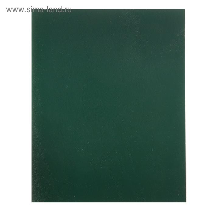 """Тетрадь 48 листов клетка """"Зелёная"""", обложка бумвинил"""