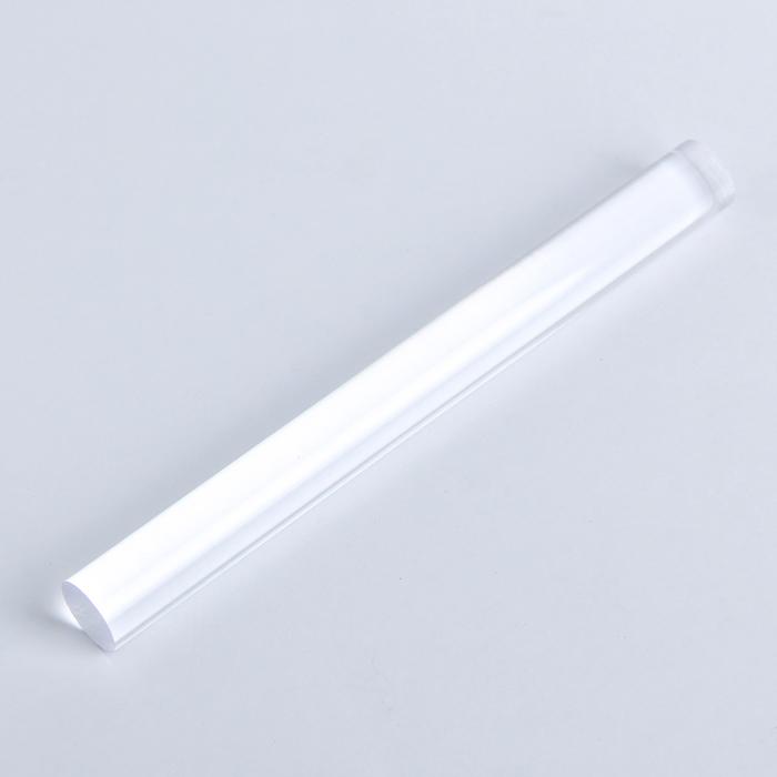 Ролик акриловый для пластики, L=20 см, d=2 см