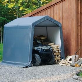 Сарай Shelterlogic, 1.8 × 3 × 2 м, скатная крыша, в коробке