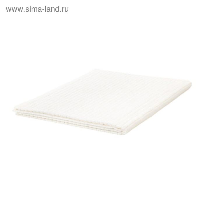Полотенце махровое ВОГШЁН, размер 100х150 см, цвет белый