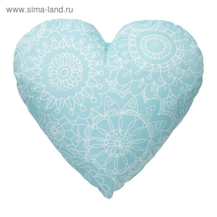 Подушка декоративная ВЭНСКАПЛИГ, размер 45х45 см, цвет бирюза