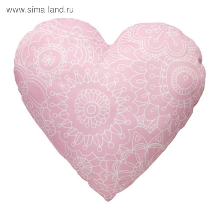 Подушка декоративная ВЭНСКАПЛИГ, размер 45х45 см, цвет розовый