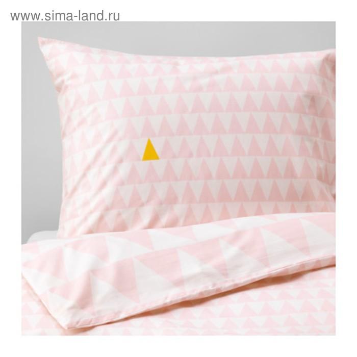 КПБ СТИЛЛСАМТ, размер 150х200 см, 50х70 см-1 шт., цвет светло-розовый