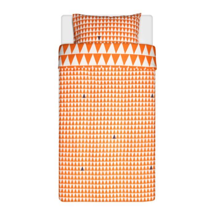 КПБ «Стиллсамт», размер 150х200 см, 50х70 см-1 шт, цвет светло-оранжевый