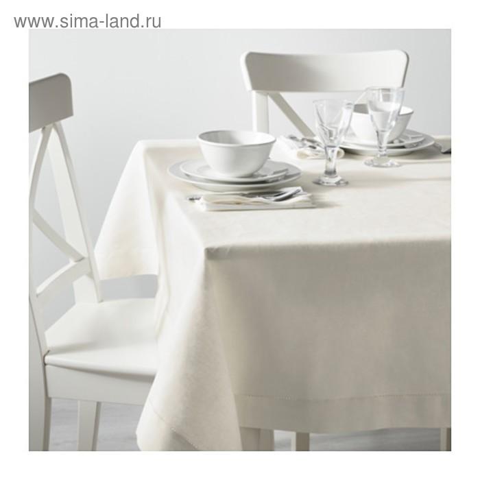 Скатерть ГУЛЬМАЙ, размер 145х240 см, цвет белый