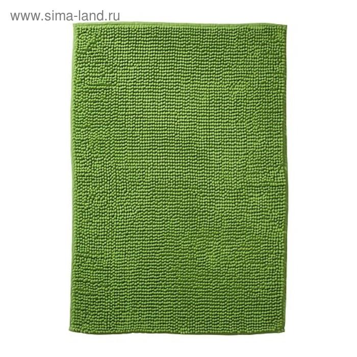 Коврик для ванной, ТОФТБУ, 60х90 см, цвет зелёный