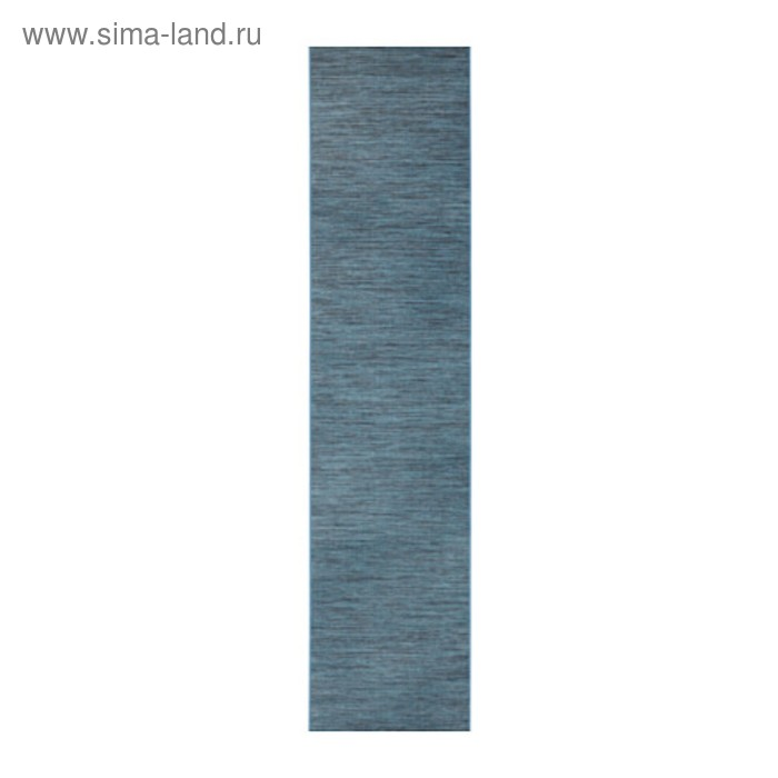 Гардина ФОНСТЕРВИВА, размер 60х300 см, цвет синий серый
