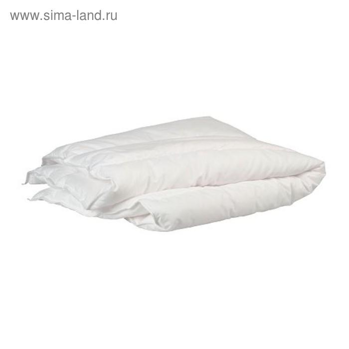 Одеяло в детскую кроватку ЛЕН, размер 110х125 см, цвет белый