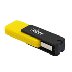 Флешка USB2.0 Mirex CITY YELLOW, 4 Гб, чтение 18 Мб/с, запись 6 Мб/с, желтая