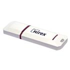 Флешка USB2.0 Mirex KNIGHT WHITE, 8 Гб, ск. чт. 20 Мб/с, ск. зап. 9 Мб/с, белая