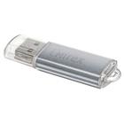 Флешка USB2.0 Mirex UNIT SILVER, 32 Гб, чт до 25 Мб/с, зап до 15 Мб/с, серебристая