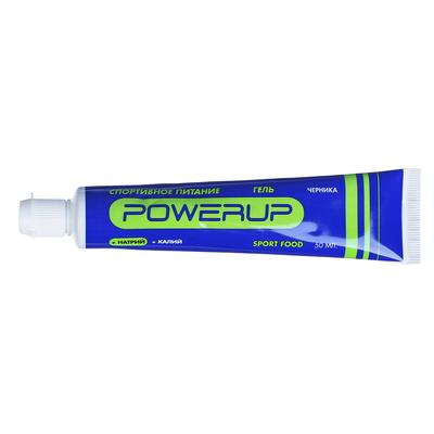 Гель PowerUp, черника, 50 мл