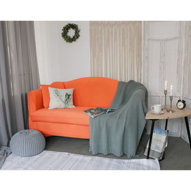 Чехол для мягкой мебели в детскую Collorista,2-х местный диван,наволочка 40*40 см в ПОДАРОК 24809