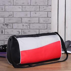 Сумка спортивная, 1 отдел на молнии, регулируемый ремень, цвет красный Ош