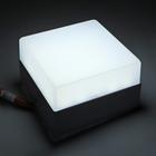 Накладной светодиодный светильник Luazon, квадратный, 90х90х55 мм, 6 Вт, 550 Лм, 6500 К