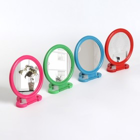 Foldable mirror-pendant, d of the mirror surface is 8.5 cm, MIX