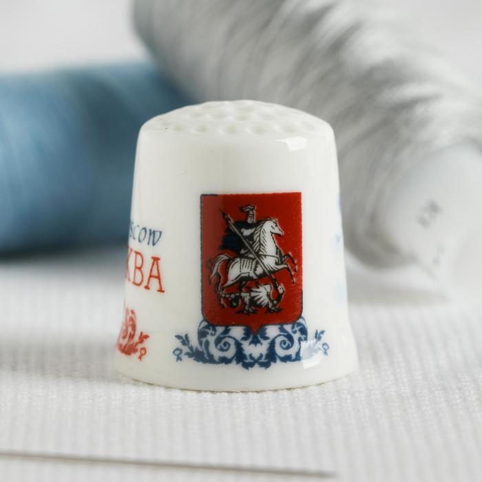 Напёрсток сувенирный «Москва» - фото 691178