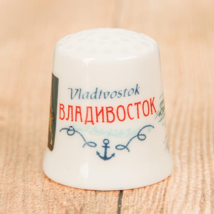 Напёрсток сувенирный «Владивосток» - фото 691249