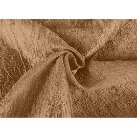 Ткань портьерная в рулоне, ширина 280 см, однотонная, тергалет