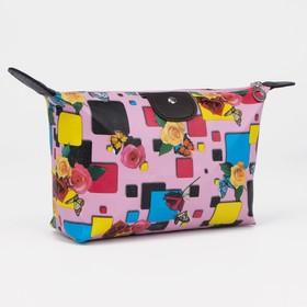 Косметичка-сумочка, отдел на молнии, цвет розовый в Донецке