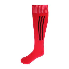 Гетры футбольные, размер 37-40, цвет красный