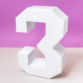 """Заготовка из гофрокартона """"3"""", 21 х 29 см"""