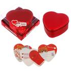 """Шкатулка с наклейками """"Любовь - это ты и я"""" в подарочной коробке"""