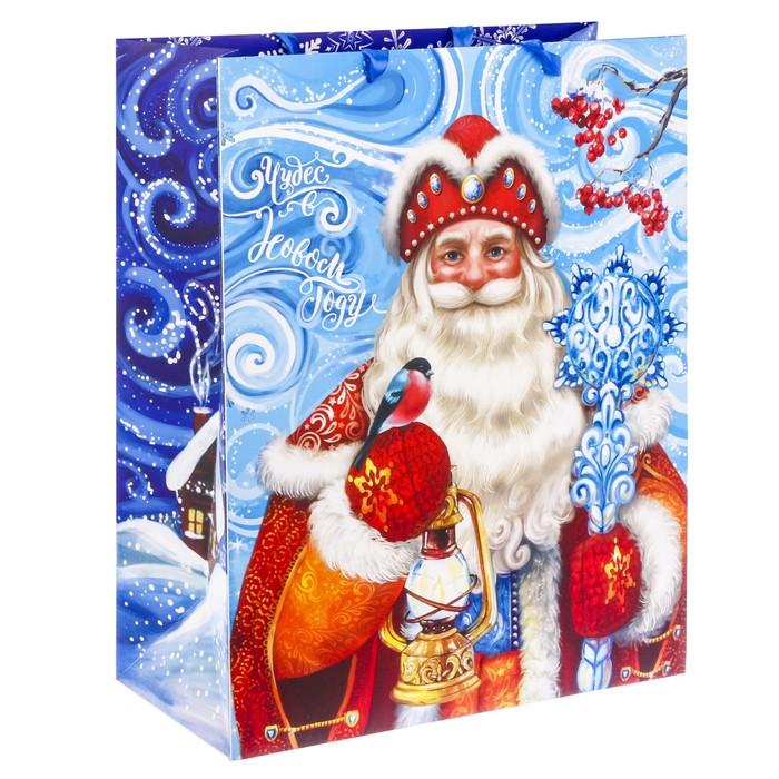 Пакет ламинированный XL «Чудес в Новом году!», 40 × 49 × 19 см