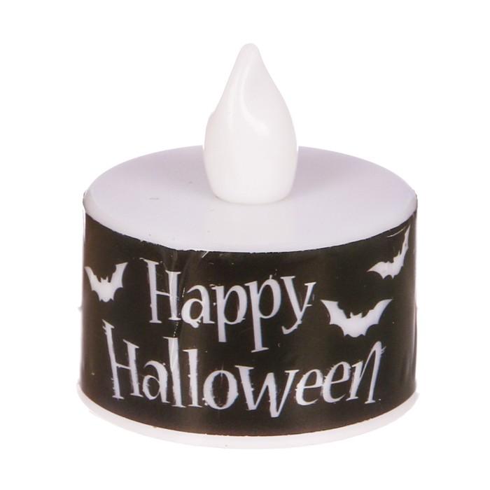 """Свеча-светильник """"Happy Halloween"""""""