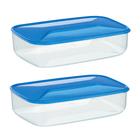 Набор 2 контейнера: 400 мл, 14 х 10 х 5 см
