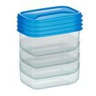 Мини-контейнер, 110 мл, 4 шт., 8.5 х 5.5 х 4 см