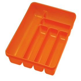 Лоток для столовых приборов, 6 секций, 40 х 30 х 6 см, цвет МИКС