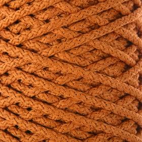 Шнур для вязания с сердечником 100% полиэфир, ширина 5 мм 100м/550гр (103 песочный)